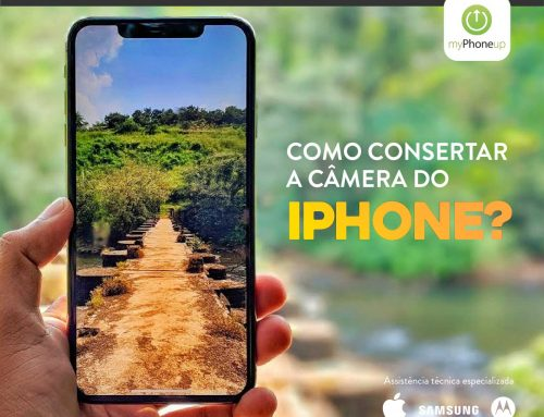 Como consertar a câmera do iPhone?